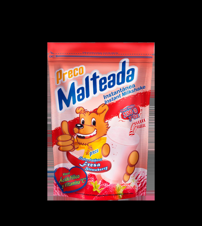 Preco Malteada Fresa2